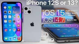 iPhone 13 Name, AirPods 3, MacBook Pro, iOS 15 Split Screen iOS 14.7 and more
