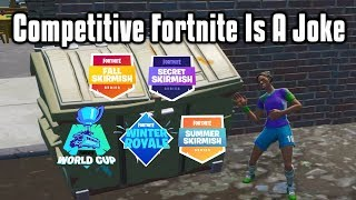 Competitive Fortnite Is A Joke   The Story Of Fortnite ESports