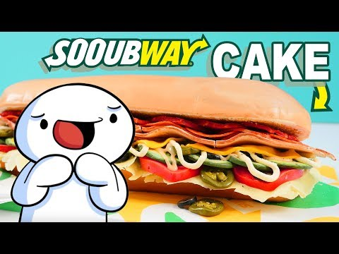 Sooubway Cake Tutorial with TheOdd1sOut & HowToCookThat