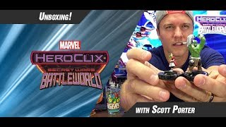 Marvel HeroClix Secret Wars: Battleworld Unboxing Part 1