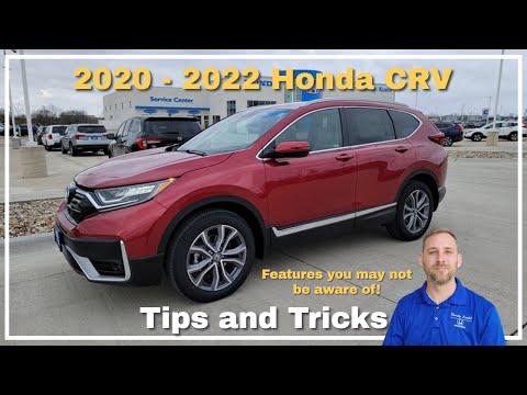 2021 Honda CR-V Tips and Tricks