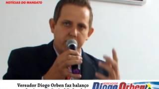 Vereador Diogo Orben faz balanço de viagem à Capital Federal
