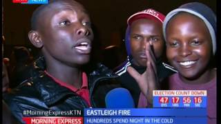 Morning Express :  Eastleigh residence counting loses after an inferno
