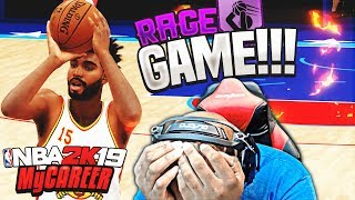 NBA 2K19 MyCAREER Mode - ALL STAR GAME RAGE! | LeBron James Catches Cramps Up Again