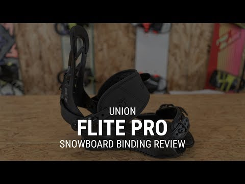 2019 Union Flite Pro Snowboard Binding Review- Tactics