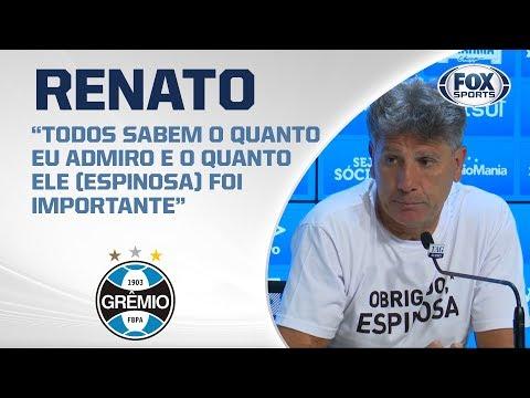 GRÊMIO VENCE O JUVENTUDE NO GAÚCHÃO! Renato Portaluppi fala ao vivo