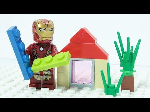 LEGO IRON MAN Brick Building Summer House Superher | Youtube Search