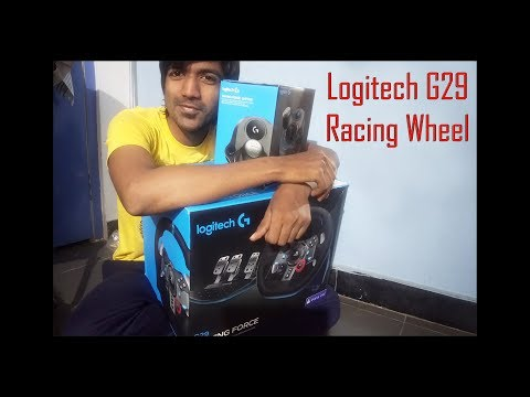 96a16dcad3d Logitech G29 Driving Force Racing Wheel Unboxing in Pakistan [Urdu ...
