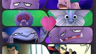Venonat  - (Pokémon) - Pokémon GO Gym Battles Koga Theme Weezing Venomoth Muk Venonat & more
