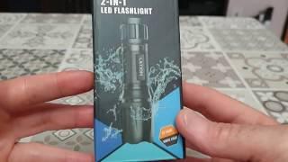 Torcia Letion  2 in 1 UV LED+white led, 500lm