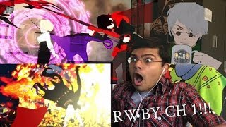 RWBY Volume 1 Chapter 1 Reaction: Ruby Rose!!! RWBY IS LIFE NOW!