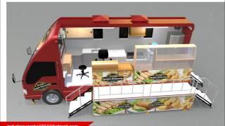 Desain 3D Food Truck (By Md Eko Nugroho)