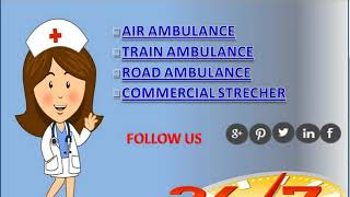 Vedanta Air Ambulance Service in Kolkata and Guwahati with EMT Specialist