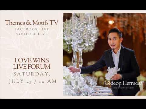 Gideon Hermosa Talks About Promise Weddings