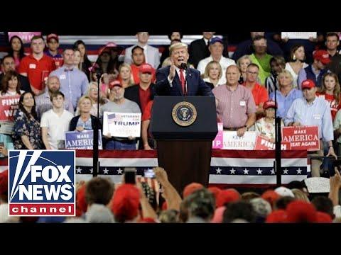 President Trump hosts 'MAGA' rally in Illinois
