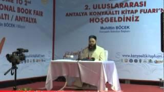 Cübbeli Ahmet Hoca Antalya Konyaaltı Sohbeti 8 Ekim 2011