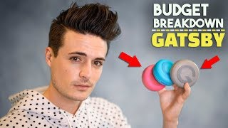 Is Gatsby Any Good? Budget Breakdown | Men's Hair Products | BluMaan 2018
