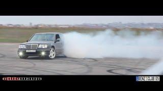 Burnout - Mercedes Benz: CLS55 AMG, CLS63 AMG, C43 AMG, E500 w124, E55 AMG, Mazda RX-8 & BMW M5