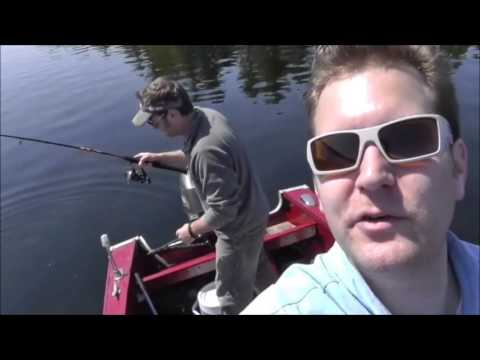 MA2013 – Spring Fishing in Long Pond, Belgrade, Maine