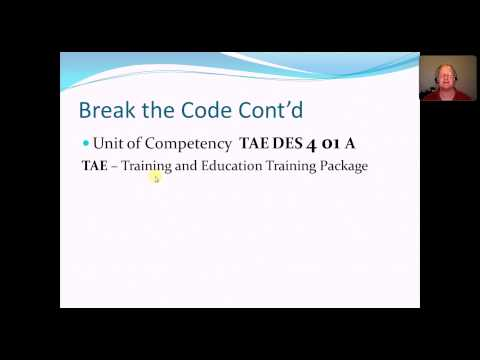 Certificate IV in Training and Assessment Packages, Qualifications ...