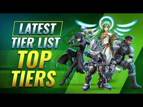 Our Latest Smash Ultimate Tier List - TOP TIER Characters