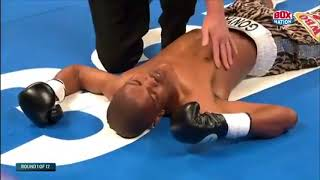 Punch too quick to see. 1 Punch Wonder Zolani Tete 11 seconds Title win