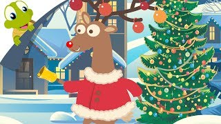 Rudolph the Red Nosed Reindeer with lyrics | Christmas Song