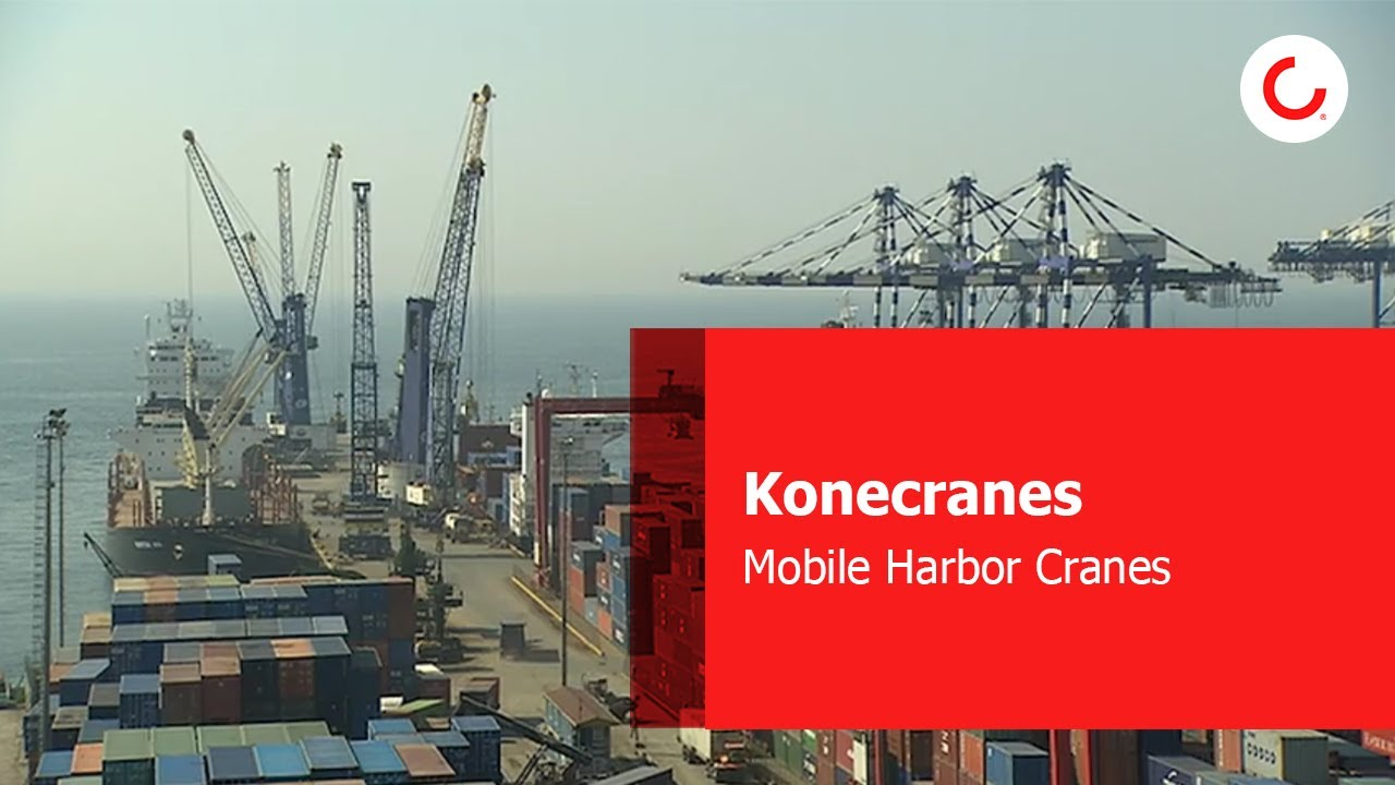 Mobile Harbor Cranes Kone Crane Wiring Diagram Konecranes Gottwald Youtube Thumbnail