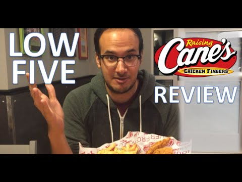 Raising Cane's | Fast Food Review | Low Five