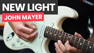 🎸New Light John Mayer Guitar Lesson   How To Play New Light By John Mayer