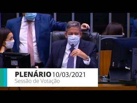 Plenário - PEC Emergencial: votação de destaques apresentados ao texto-base - 10/03/2021- 11:26