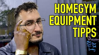 Schau das bevor du Homegym Equipment kaufst und Reviews schaust!