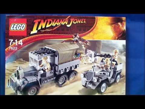 Vidéo LEGO Indiana Jones 7622 : La quête du trésor perdu