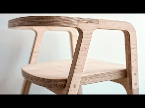 Building a Chair with Shaper Origin