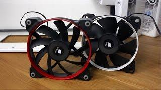 Airflow vs. Static pressure / Die richtigen Lüfter für Radiatoren und Co.