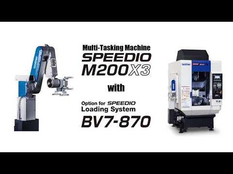 M200X3 + BV7-870 デモ動画