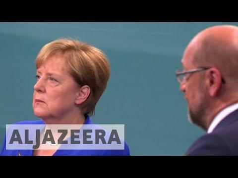 Germany's Angela Merkel leads polls after televised debate