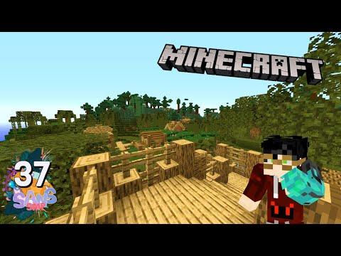 Pembuatan DESA NELAYAN !!#37  SANS SMP  Minecraft Indonesia