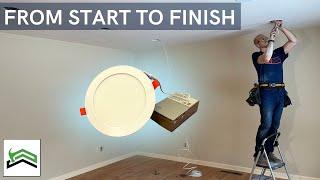 Ultra Thin Recessed Lighting   Transform A Dark Living Space