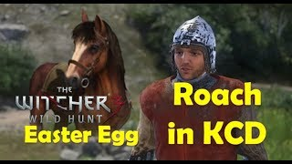 Ridding Gerald's Roach in Kingdom Come Deliverance - The Witcher 3 Easter Egg