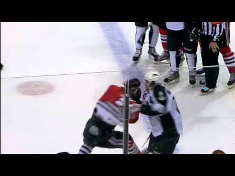 Brandon Bollig vs Michael Latta