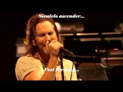 Pearl Jam - Comatose (Subtitulos En Español - Ingles).