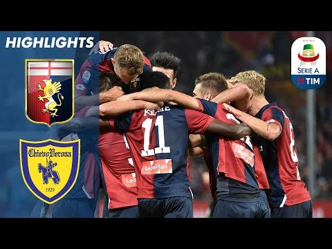 Genoa 2-0 Chievo | Genoa Secure Win Over Chievo | Serie A