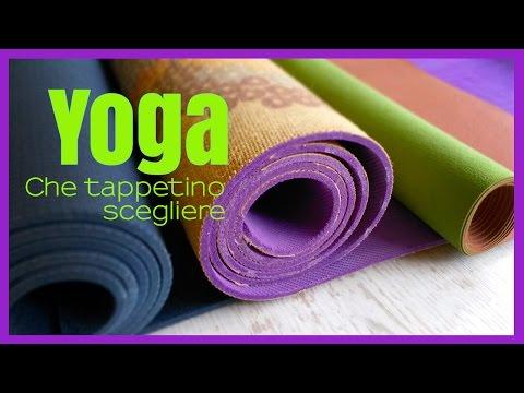 Yoga - Come scegliere il tappetino