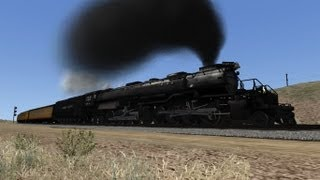 TS2014 HD EXCLUSIVE: Union Pacific Big Boy 4014 Excursion Over Sherman Hill [2019 Announcement]