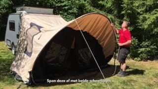 Instructievideo Shelter Bosuil opzetten