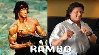 Rambo: First Blood Cast Then and Now