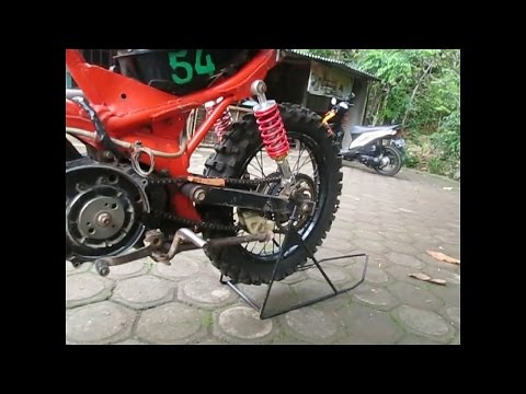 Video Rangka trail fiz bebek modif paling simpel