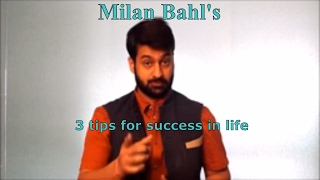 3 Success Tips Hindi | How to be Happy and successful in life hindi | How to be Happy and positive