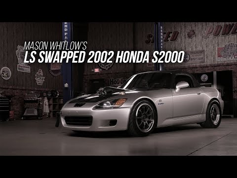Under the Hood of an LS-Swapped, Turbocharged, Honda S2000 Packing 700 Horsepower